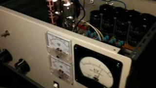 HF Linear Amplifier High Voltage Power Supply - First switch on!