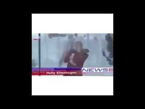 Mother Nature News Reporter Gets Rekt