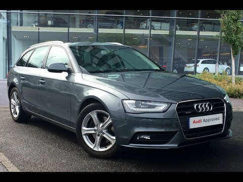LP12XGT AUDI A4 AVANT TDI QUATTRO SE TECHNIK GREY 2012, West London Audi