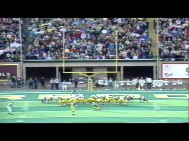 Oregon WR Cristin McLemore 68 yard touchdown catch vs. ASU 11-05-1994