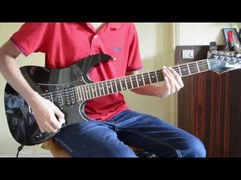 Thrice-Hurricane Guitar Cover