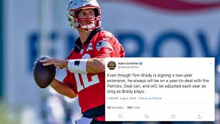 Tom Brady Contract Extension