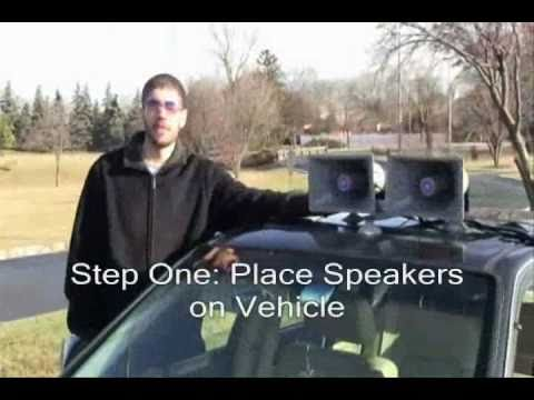 0 How to Set up the Sound Cruiser Car PA System from Amplivox