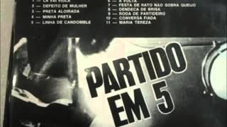 Partido em 5 - 1972 - Vol I. (completo)