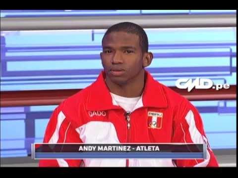 Central Deportiva: Entrevista a Andy Martinez (Velocista)