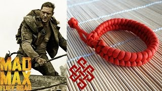How to Make a Mad Max Fishtail Paracord Bracelet Tutorial