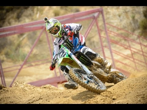 Ryan Villopoto Private Motocross Test