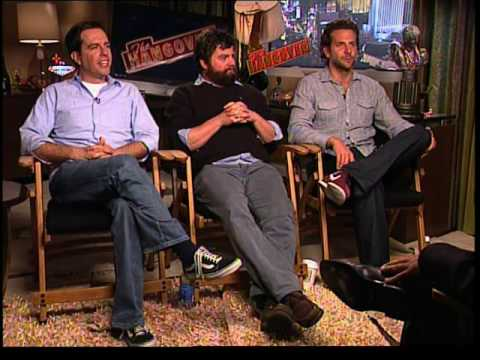 Ed Helms,Zach Galifianakis, Bradley Cooper The Hangover Video