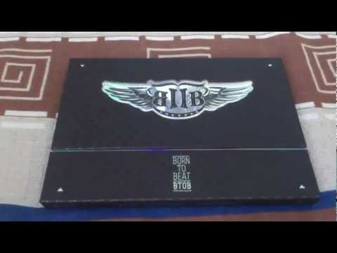 BTOB (비투비) 1st Mini Album - Born TO Beat Unboxing & Review