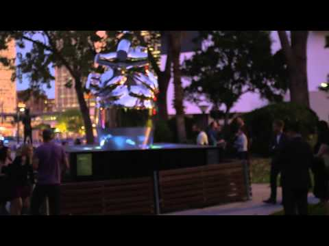 IBM Heart of the City at Vivid Sydney 2014 - Installation Video