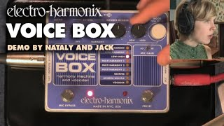 """In Harmony"" - Voice Box Video by Nataly and Jack - Vocal Harmony Machine/ Vocoder"