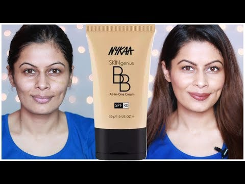 *NEW* Nykaa SKINgenius BB All-In-One Cream Review + Swatches (all shades) | First Impressions