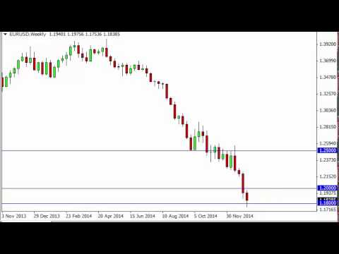 EUR/USD Forecast for the week of January 12 2015, Technical Analysis