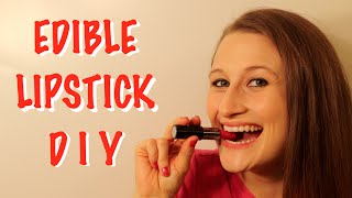 How To Make Edible Lipstick That Really Works!!!