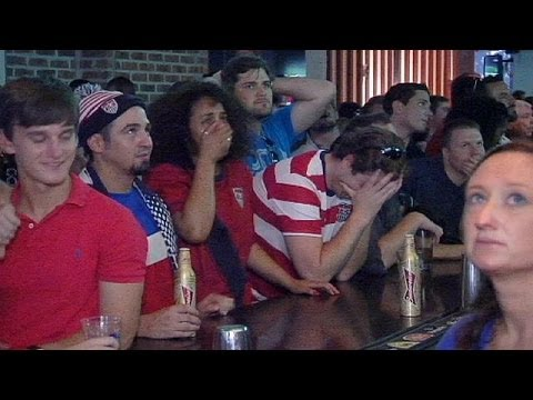 World Cup: football fever grips America