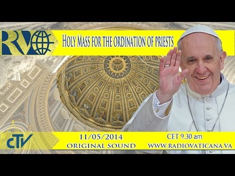 Holy Mass for the ordination of priests