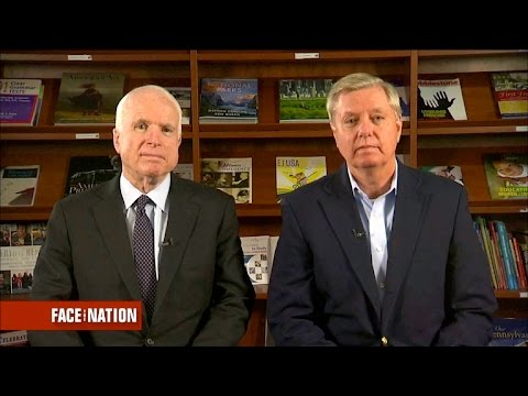 Full interview: John McCain and Lindsey Graham, July 3