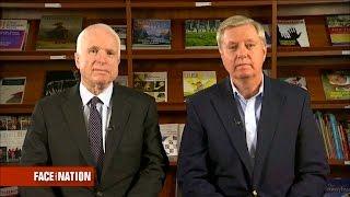 Full interview: John McCain and Lindsey Graham, July 3