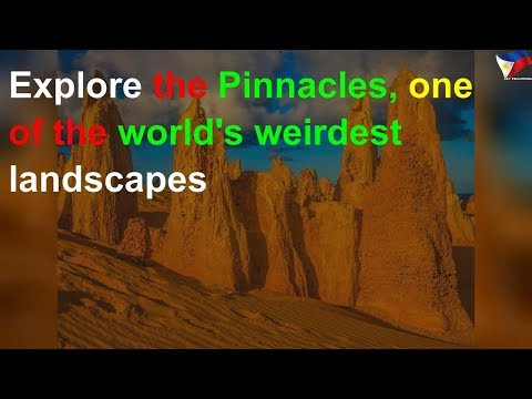 Explore the Pinnacles, one of the world's weirdest landscapes