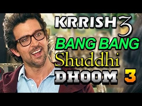Krrish 3 | Hrithik Roshan talks about Salman Khan Bang Bang...