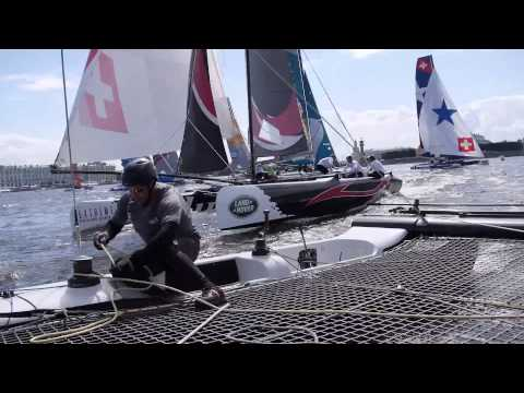 ETNZ: Extreme Sailing Series Russia-Race Day 3