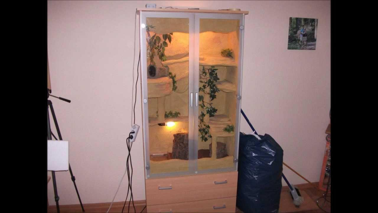 terrarium selber bauen kornnattern youtube. Black Bedroom Furniture Sets. Home Design Ideas