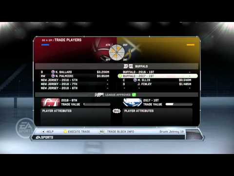 NHL 12: GM Mode Commentary - New Jersey ep. 34