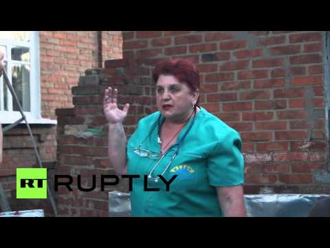 Ukraine: Fire and panic in Slavyansk after heavy artillery fire