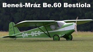 Benes-Mraz Be.60 Bestiola, Airshow Chotebor 2017