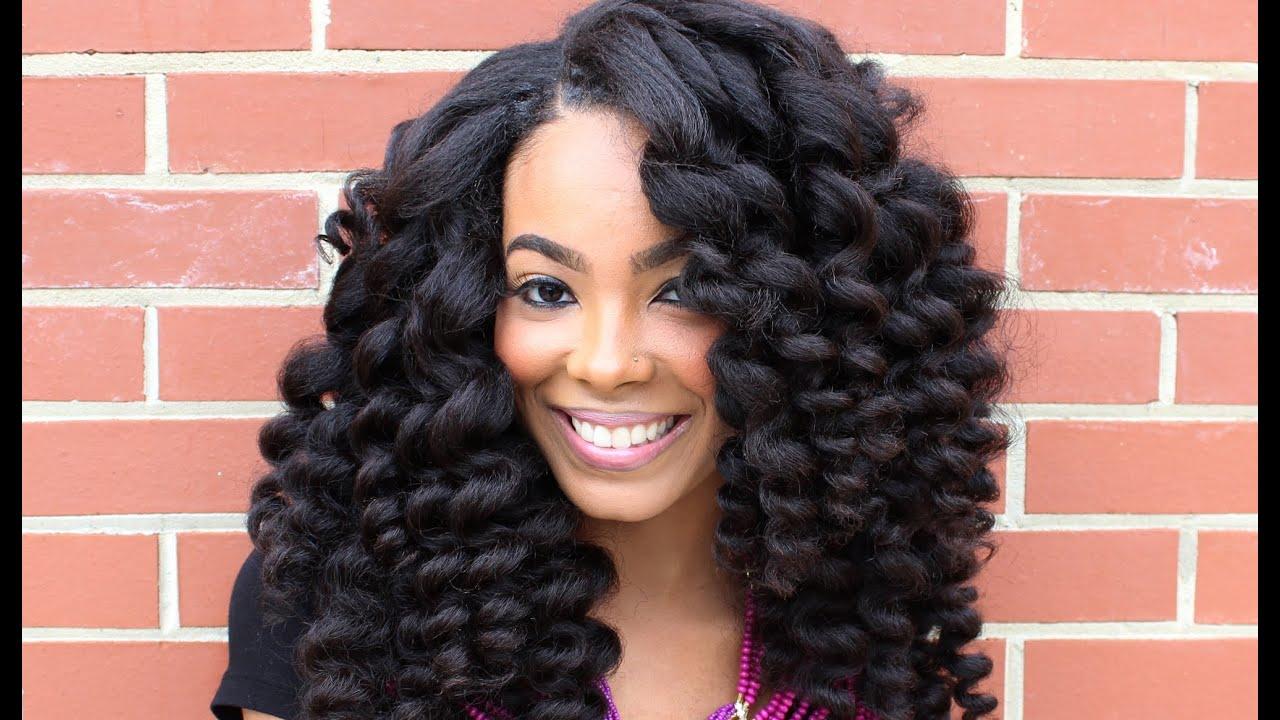 Fusion Hair Styles: HeatFreeTV: Curl Wanding Heat Free® Hair Style Tutorial