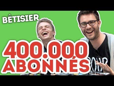BÊTISIER : 400.000 abonnés Cyprien Gaming !