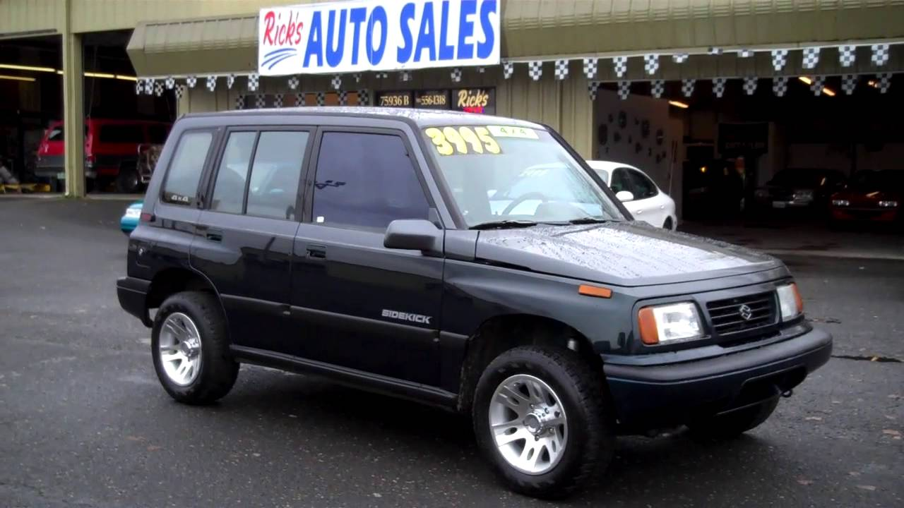 1995 Suzuki Sidekick Sold
