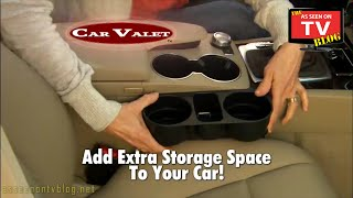 Car Valet Commercial As Seen On TV   Buy Car Valet   As Seen On TV Car Cup Holders