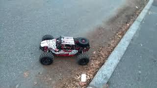 Losi dbxl 8s with x maxx tires!!!!