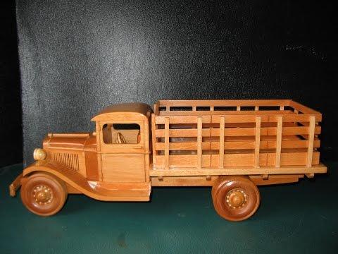 Wood Model Truck Plans