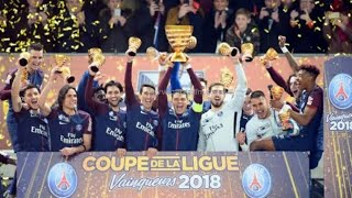 French Cup 2018 Trophy presentation | Psg vs as monaco |