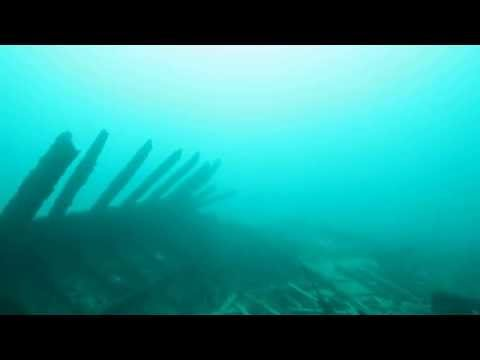 S.S. Wisconsin Shipwreck Tech Scuba (Awolnation - Sail)