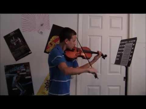 Schumann Scherzo violin excerpt
