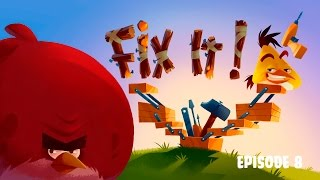 Fix it! | Angry Birds Toons - Ep 8, S 3