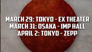 Sabaton Japan Tour Trailer 2 2018