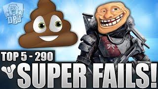 Destiny: Funny Top 5 Titan Super Fails Of The Week / Episode 290