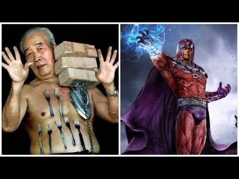 5 людей с суперсилой Снятых На Камеру в реальной жизни, крутые суперспособности