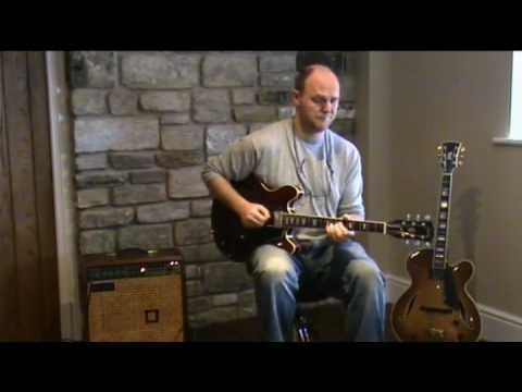 jazz guitar lesson part 5 w/ Mike Walker