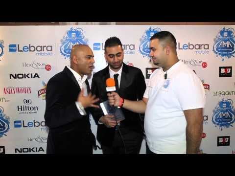 Panjabi Hit Sqaud UK AMA 2012 Media room interview by Jamm Media