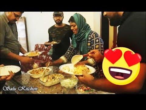 Eid Special || വീണ്ടും ഒത്തുചേരാമെന്ന പ്രതീക്ഷകളോടെ...... || Ep#583 || Salu Kitchen Special
