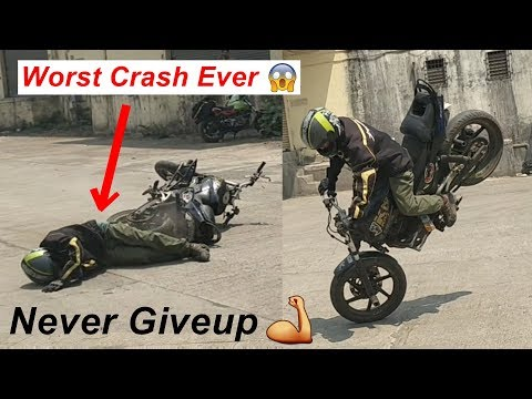 Stoppie Crash - Kill Me Fast - Horrify Bike Stunt