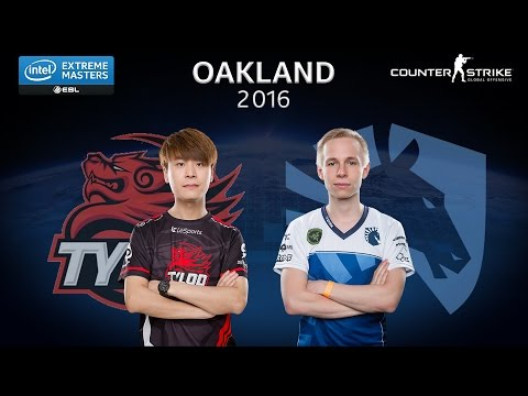 CS:GO - Tyloo vs. Team Liquid - Group A - IEM Oakland 2016