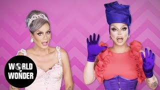 """FASHION PHOTO RUVIEW: S9 Ep 3 """"Draggily Ever After"""" w/ Raja & Raven   RuPaul"""