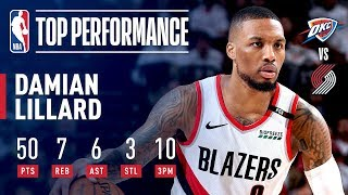 Damian Lillard Drops 50 and the Series-Winner! | April 23, 2019