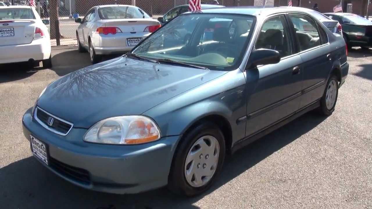 1997 Honda Civic 1 6 Sohc D16y7 Lx Sedan Youtube